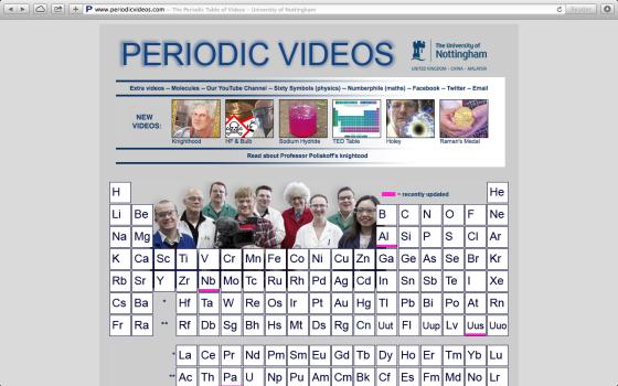 periodicvideoshomepage